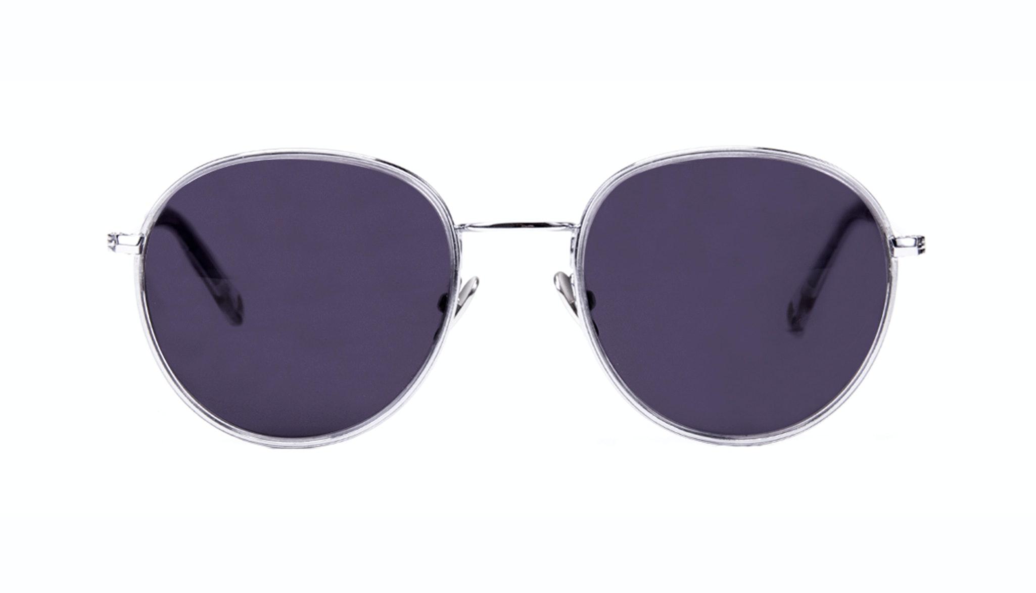 Affordable Fashion Glasses Aviator Round Sunglasses Women Subrosa Glacier