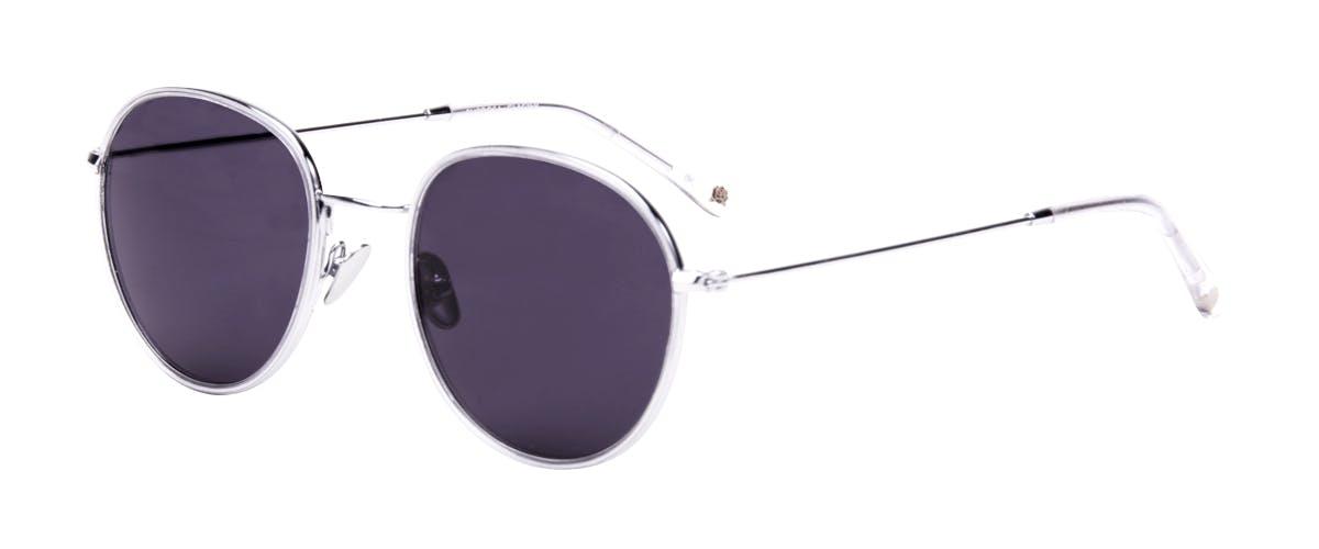 Affordable Fashion Glasses Aviator Round Sunglasses Women Subrosa Glacier Tilt