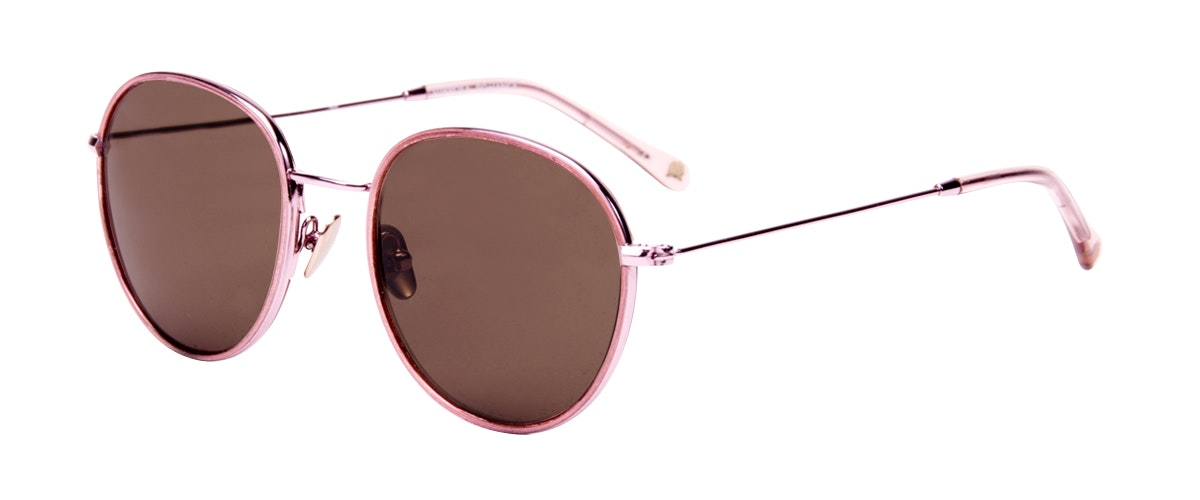 Affordable Fashion Glasses Aviator Round Sunglasses Women Subrosa Romance Tilt
