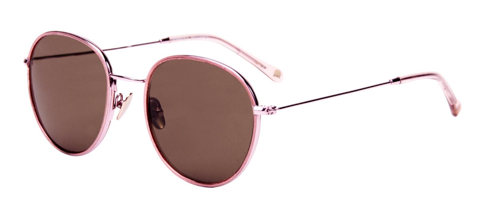 Affordable Fashion Glasses Aviator Round Sunglasses Women Subrosa Romance Tilt