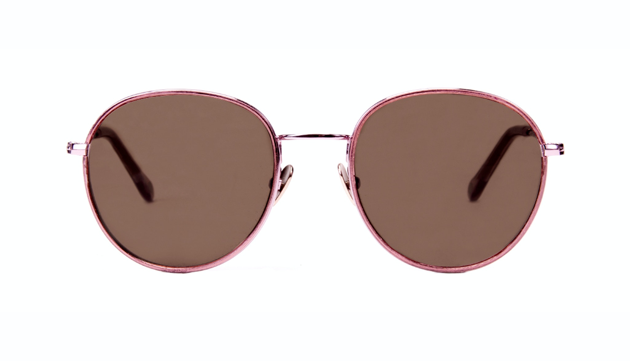 Affordable Fashion Glasses Aviator Round Sunglasses Women Subrosa Romance Front
