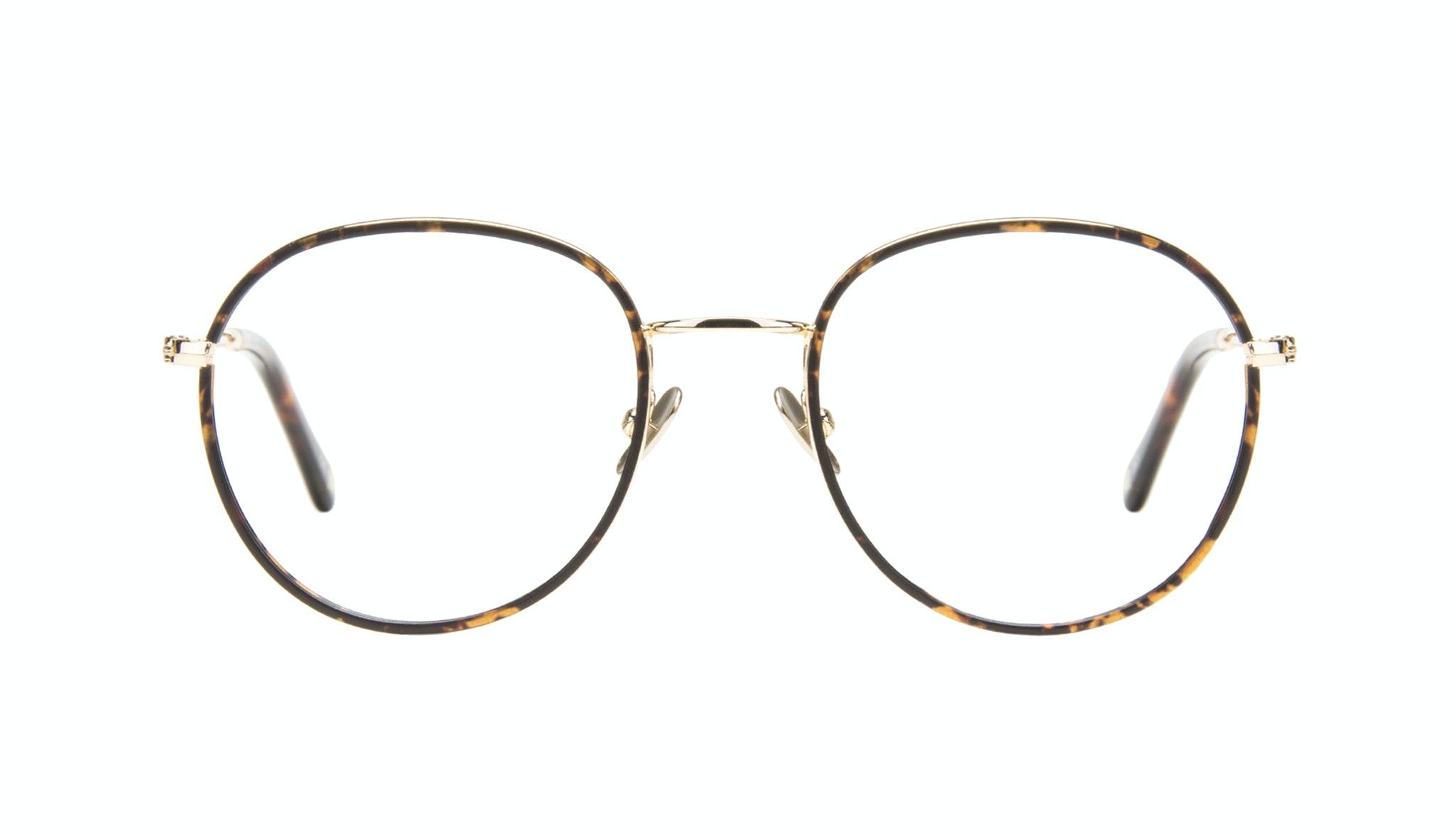 Affordable Fashion Glasses Aviator Round Eyeglasses Women Subrosa Fauve
