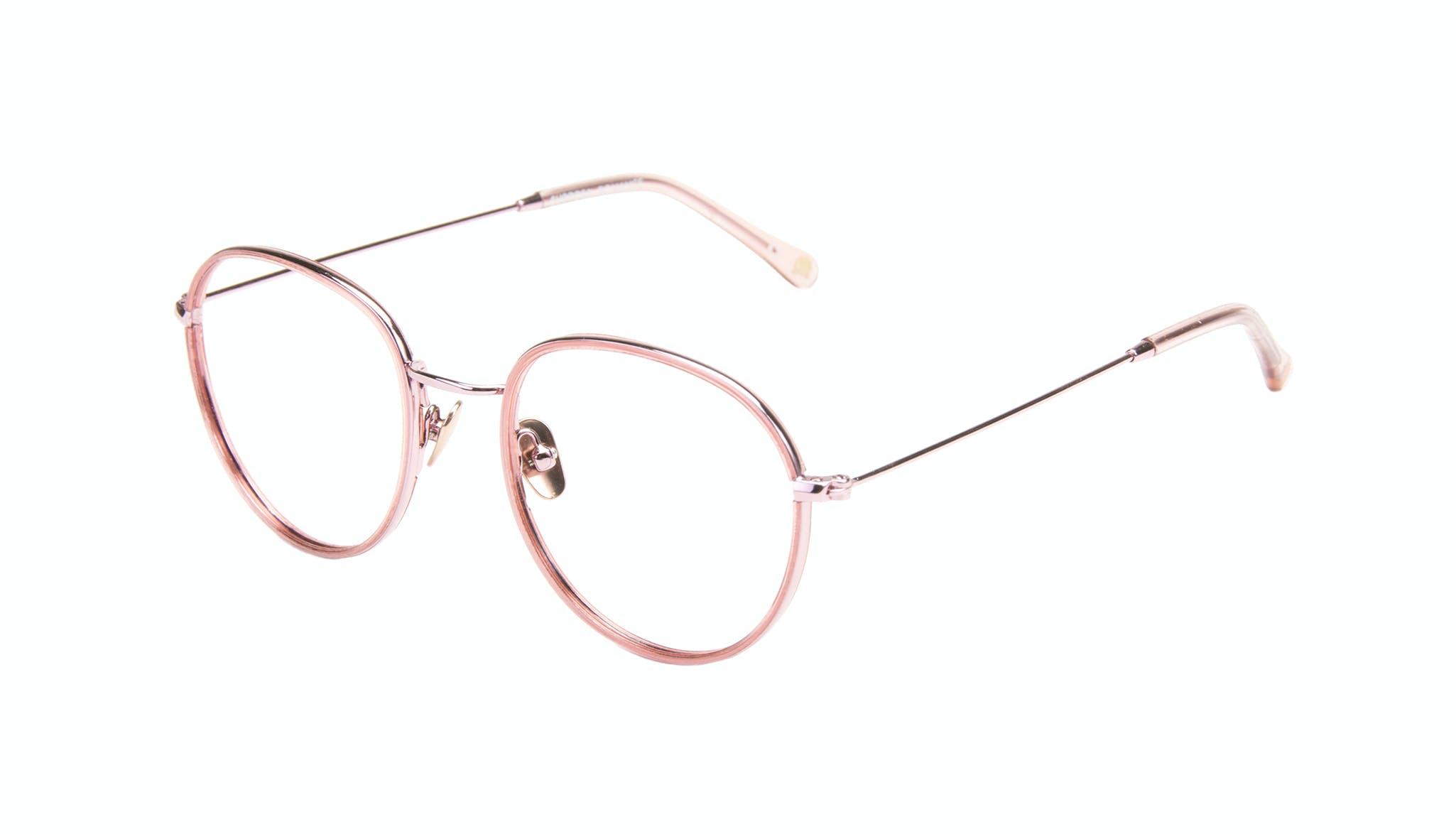 Affordable Fashion Glasses Aviator Round Eyeglasses Women Subrosa Romance Tilt