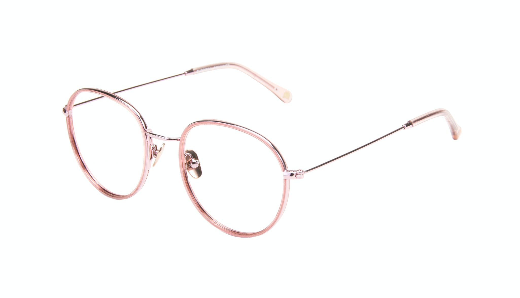 Affordable Fashion Glasses Aviator Round Eyeglasses Women Subrosa Romance Tilt