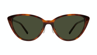 Affordable Fashion Glasses Cat Eye Sunglasses Women Sunset Tortoise Front