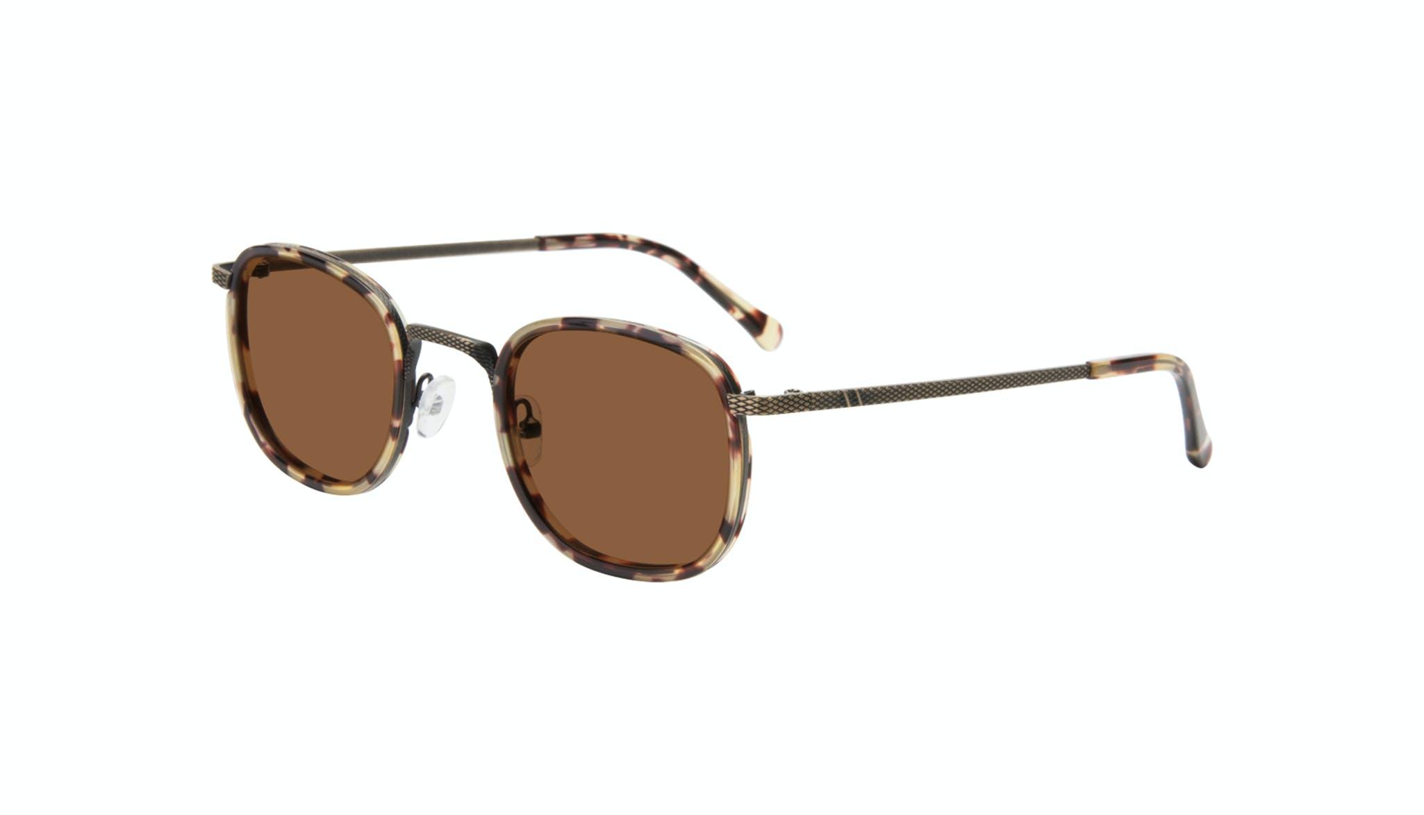 Affordable Fashion Glasses Square Sunglasses Men Swell Antique Tort Tilt