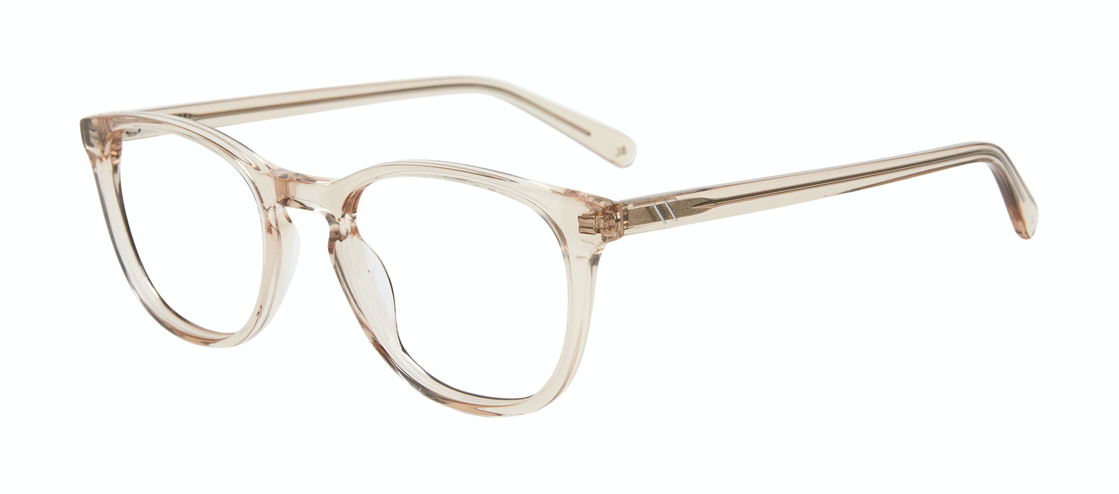 Affordable Fashion Glasses Square Eyeglasses Men Swerve Golden Tilt