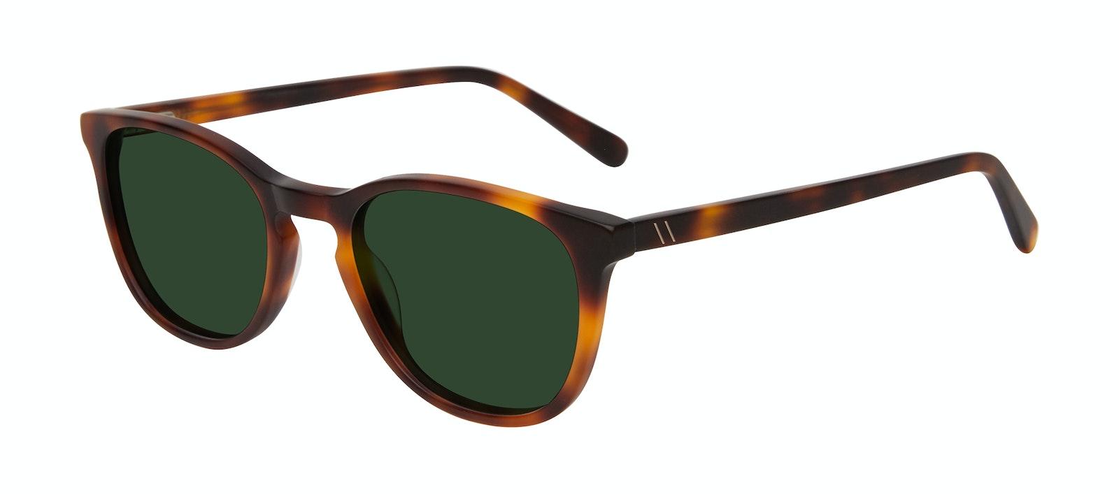 Affordable Fashion Glasses Square Sunglasses Men Swerve Matte Tortoise Tilt