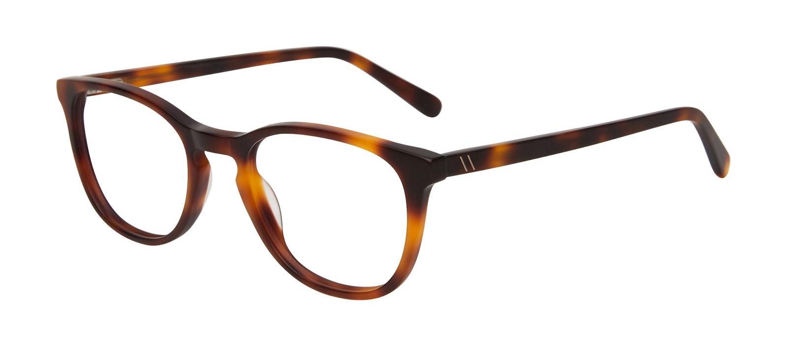 Affordable Fashion Glasses Square Eyeglasses Men Swerve Matte Tortoise Tilt