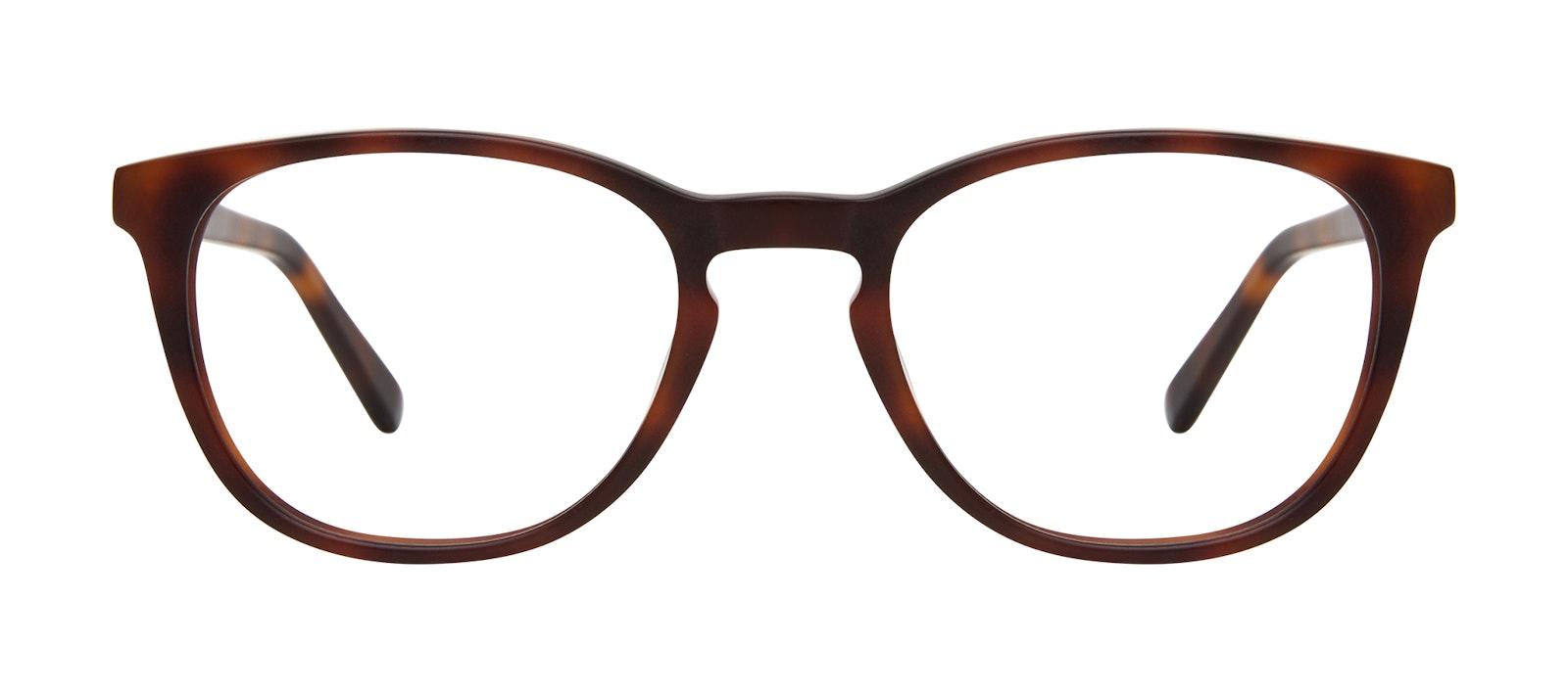 Affordable Fashion Glasses Square Eyeglasses Men Swerve Matte Tortoise Front