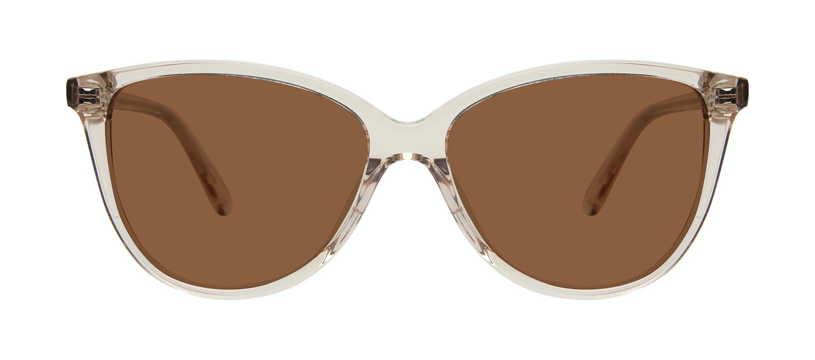 Affordable Fashion Glasses Cat Eye Sunglasses Women Tailor Blond Front