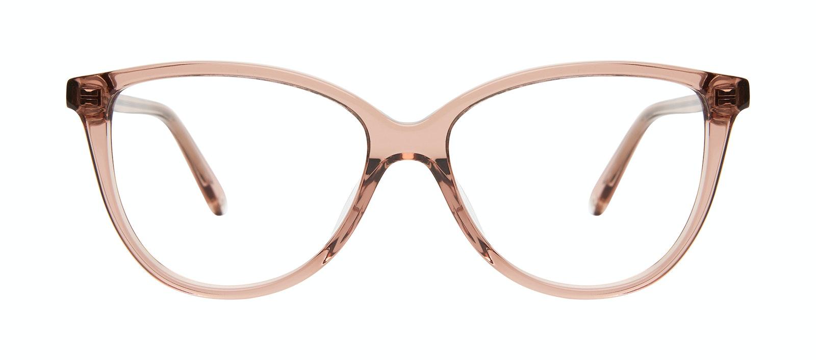 Lunettes tendance Oeil de chat Lunettes de vue Femmes Tailor Rose Face