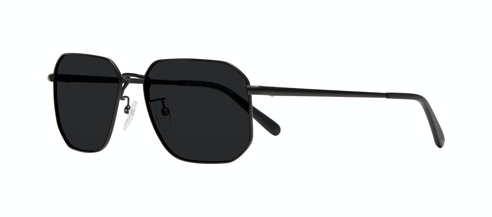 Affordable Fashion Glasses Square Sunglasses Men Timeless Matte Black Tilt