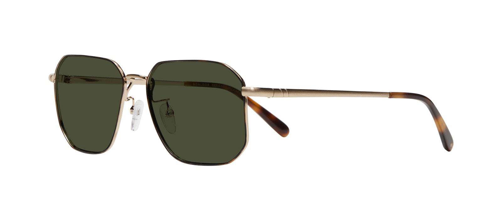 Affordable Fashion Glasses Square Sunglasses Men Timeless Tortoise Tilt