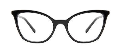 Affordable Fashion Glasses Cat Eye Eyeglasses Women Tippi Onyx Front