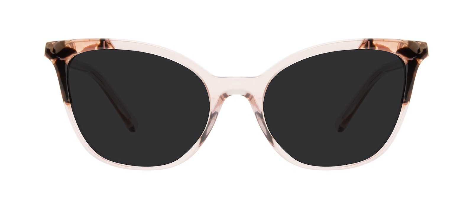 Affordable Fashion Glasses Cat Eye Sunglasses Women Tippi Pink Quartz Front