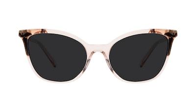 Lunettes tendance Oeil de chat Lunettes de soleil Femmes Tippi Pink Quartz Face