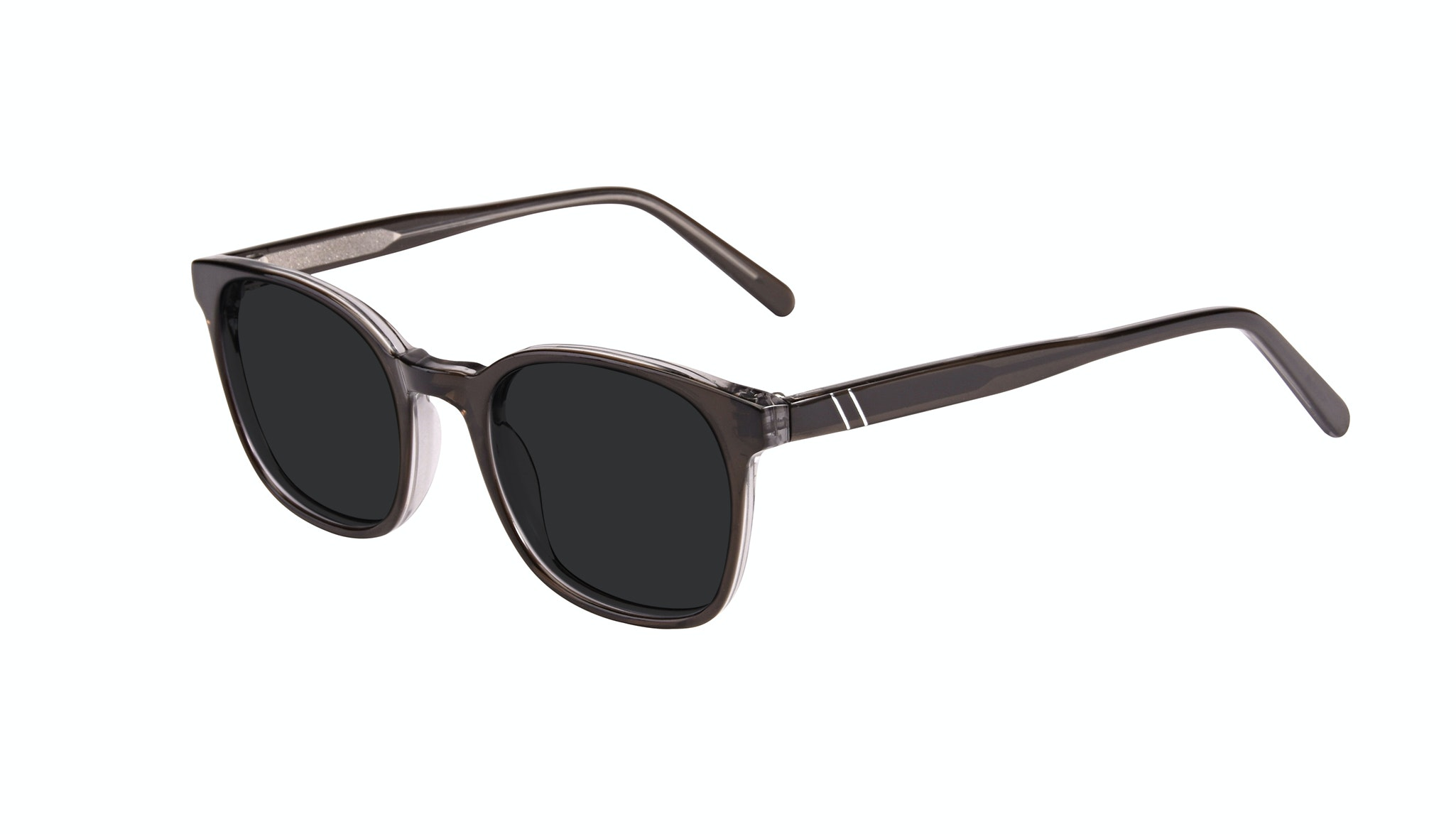 Affordable Fashion Glasses Rectangle Sunglasses Men Trace Black Ice Tilt