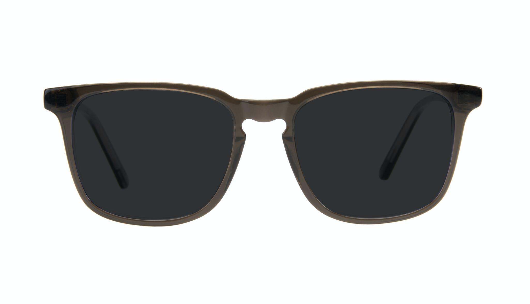 Affordable Fashion Glasses Rectangle Sunglasses Men Trace Black Ice