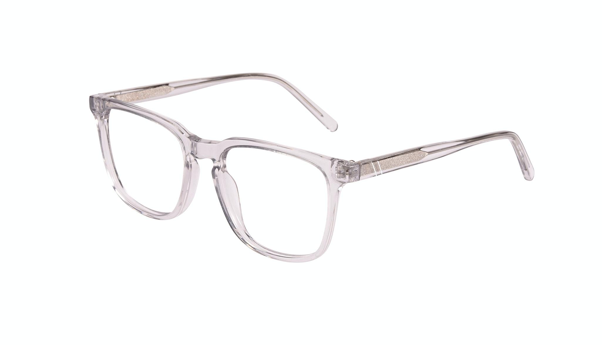 Affordable Fashion Glasses Rectangle Eyeglasses Men Trace grey Tilt