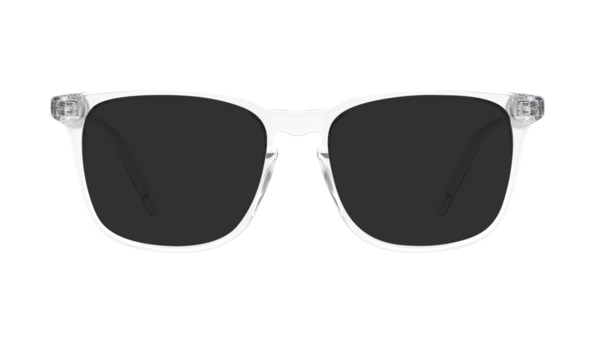 Affordable Fashion Glasses Rectangle Sunglasses Men Trace grey
