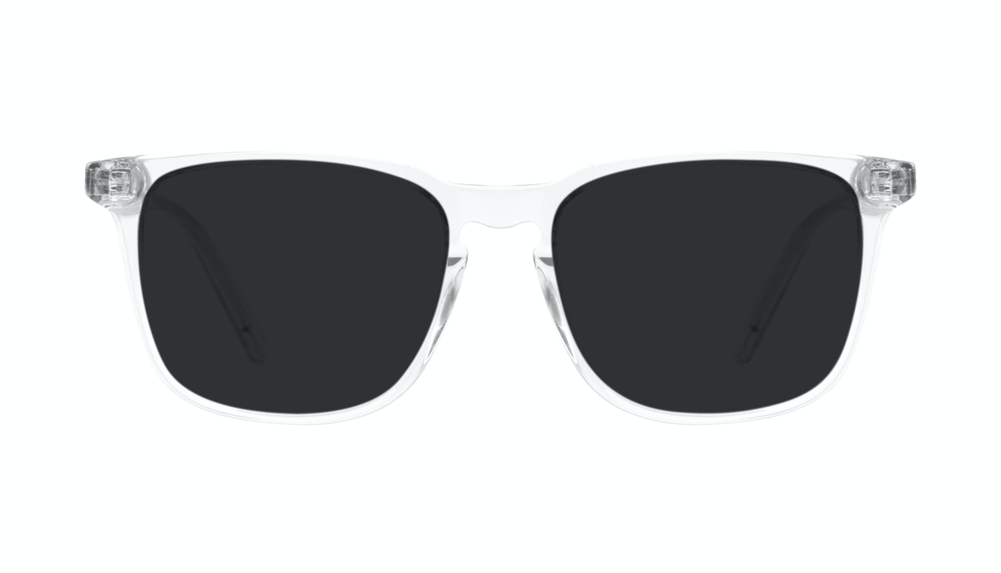 Affordable Fashion Glasses Rectangle Sunglasses Men Trace grey Front