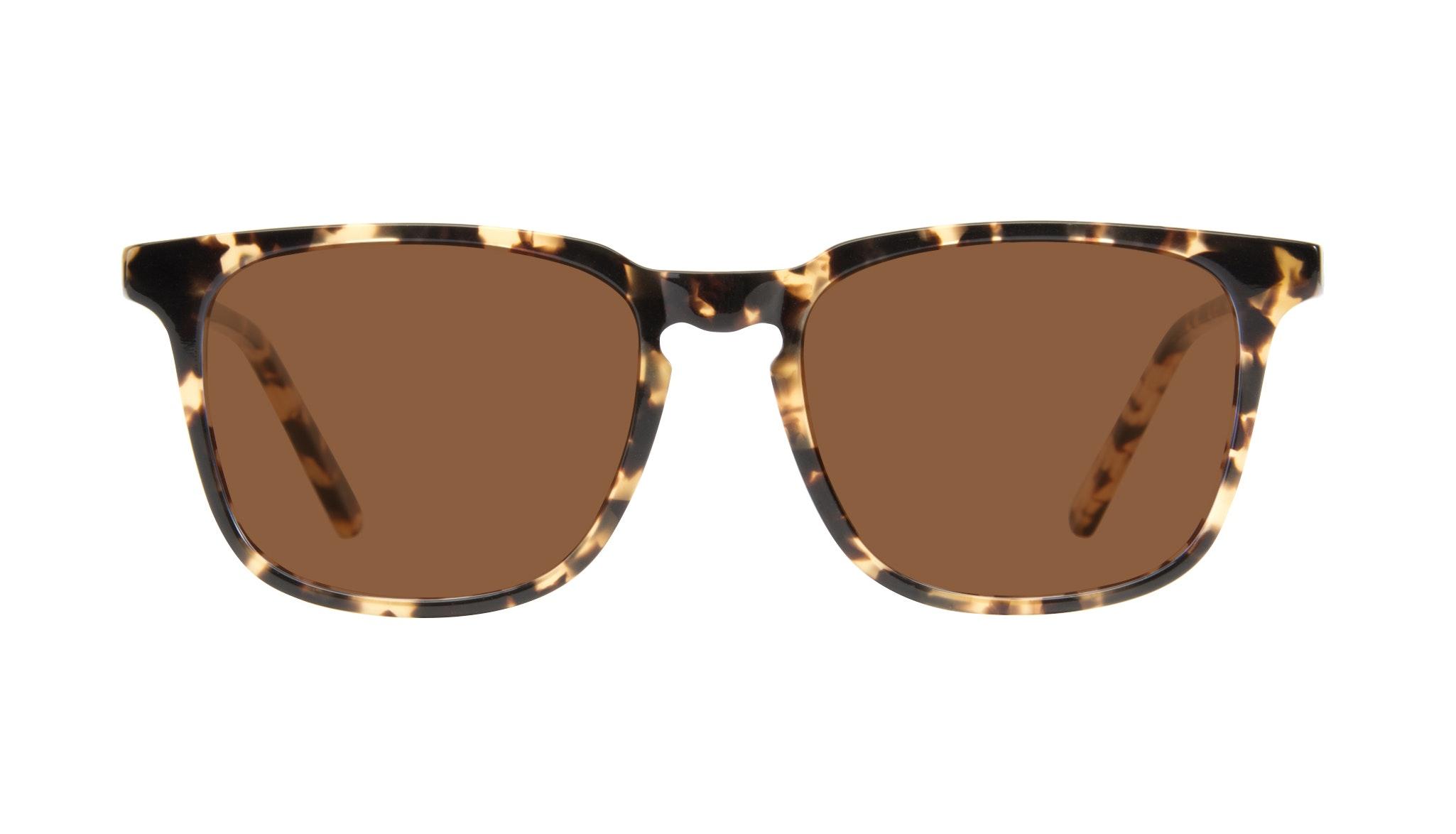 Affordable Fashion Glasses Rectangle Sunglasses Men Trace Tortoise