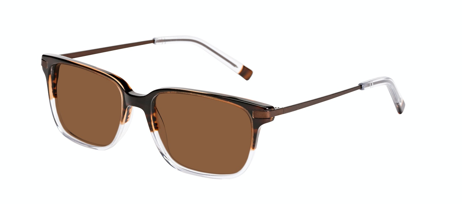 Affordable Fashion Glasses Rectangle Sunglasses Men Trade Mud Clear Tilt