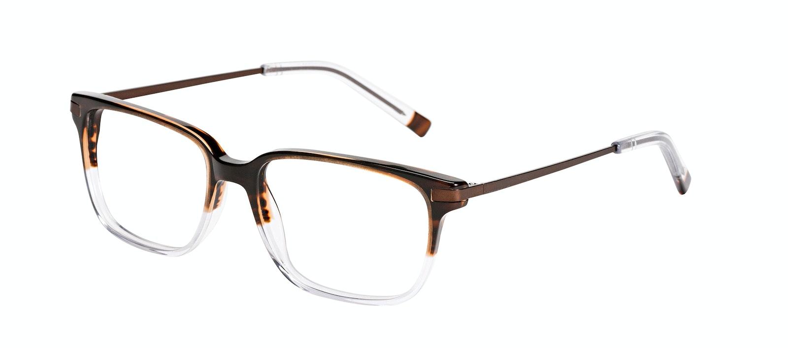 Affordable Fashion Glasses Rectangle Eyeglasses Men Trade Mud Clear Tilt