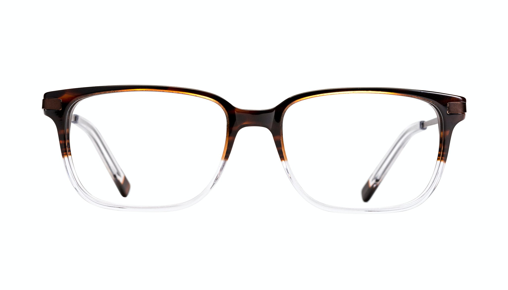 Affordable Fashion Glasses Rectangle Eyeglasses Men Trade Mud Clear