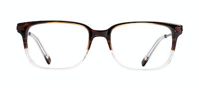Affordable Fashion Glasses Rectangle Eyeglasses Men Trade Mud Clear Front