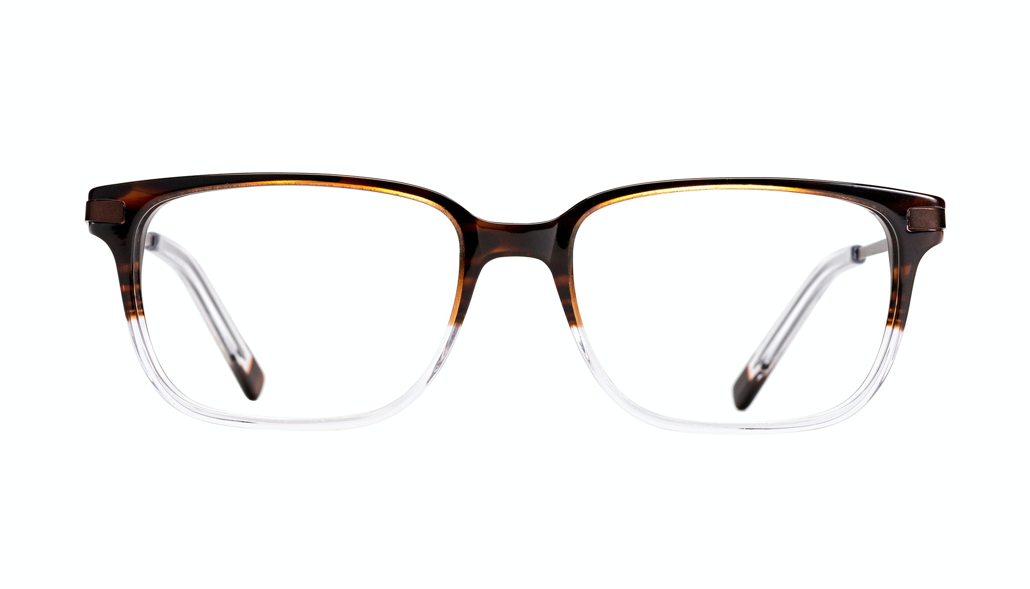 Affordable Fashion Glasses Rectangle Eyeglasses Men Trade Mud Clear Front