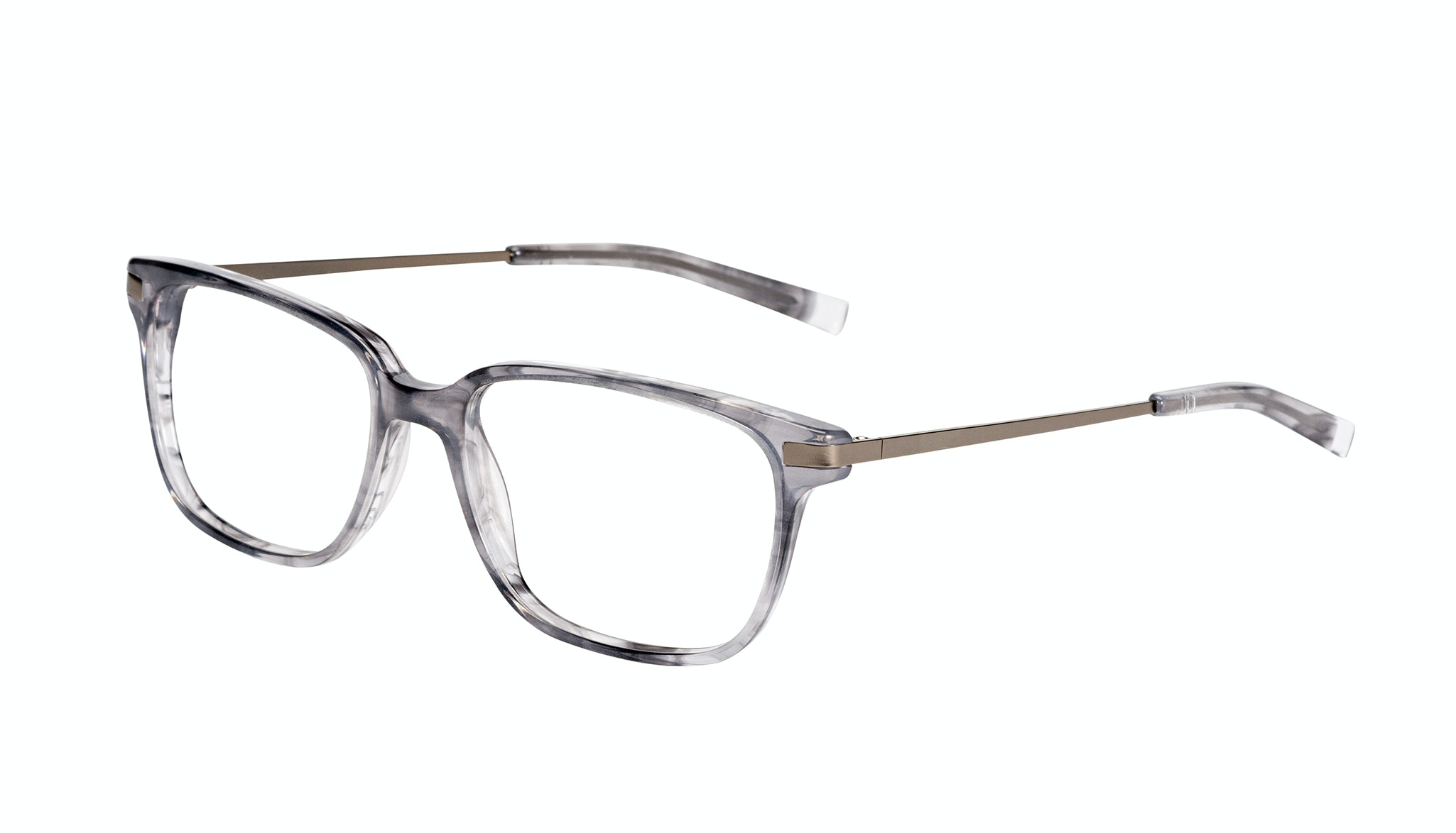 Affordable Fashion Glasses Rectangle Eyeglasses Men Trade Smokey Grey Tilt