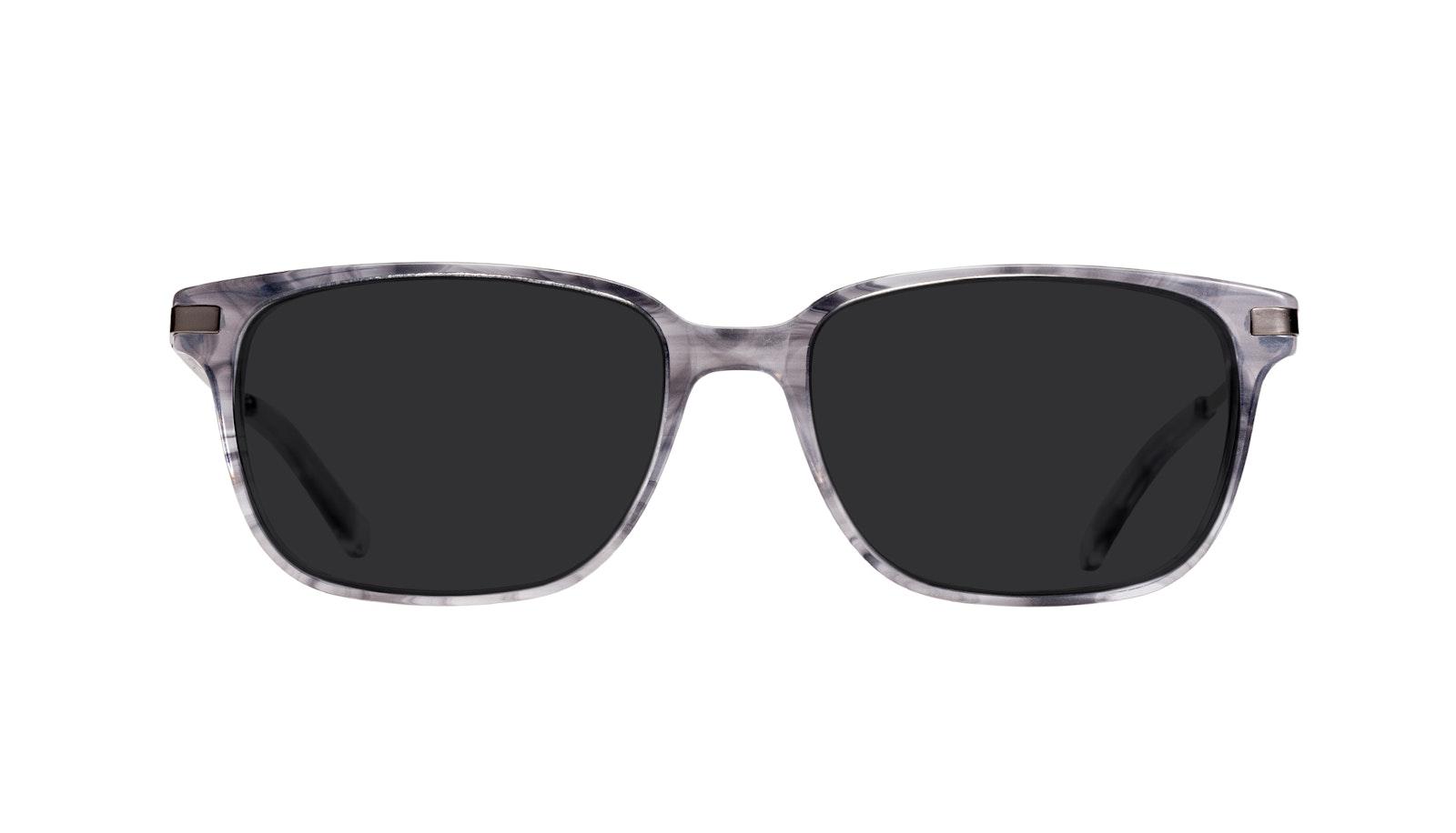 Affordable Fashion Glasses Rectangle Sunglasses Men Trade Smokey Grey