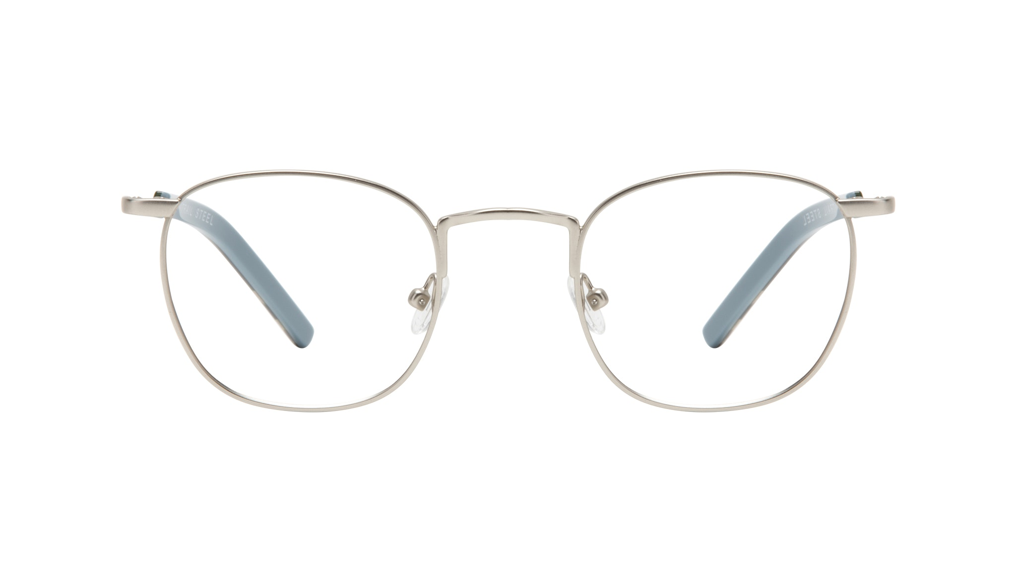 Affordable Fashion Glasses Round Eyeglasses Men Trail Steel