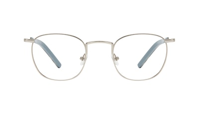 Affordable Fashion Glasses Round Eyeglasses Men Trail Steel Front