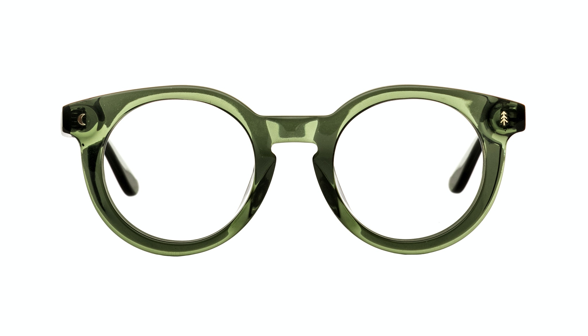 Affordable Fashion Glasses Round Eyeglasses Women Trailblazer Moss Green