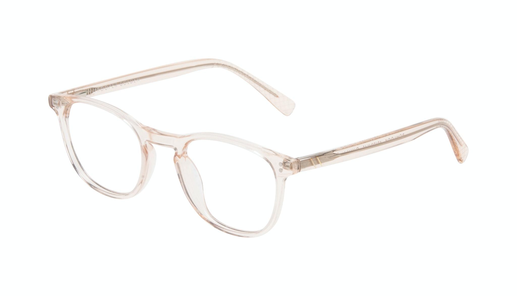 Affordable Fashion Glasses Round Eyeglasses Men Trooper Golden Tilt
