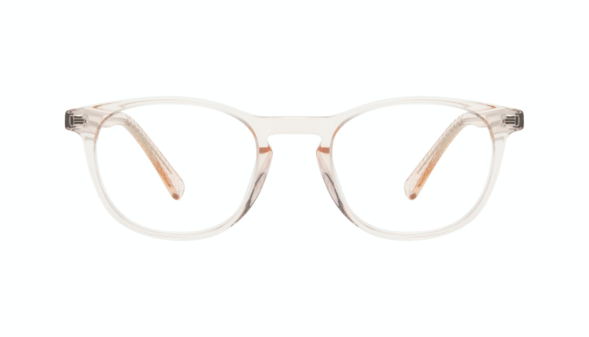 Affordable Fashion Glasses Round Eyeglasses Men Trooper Golden Front