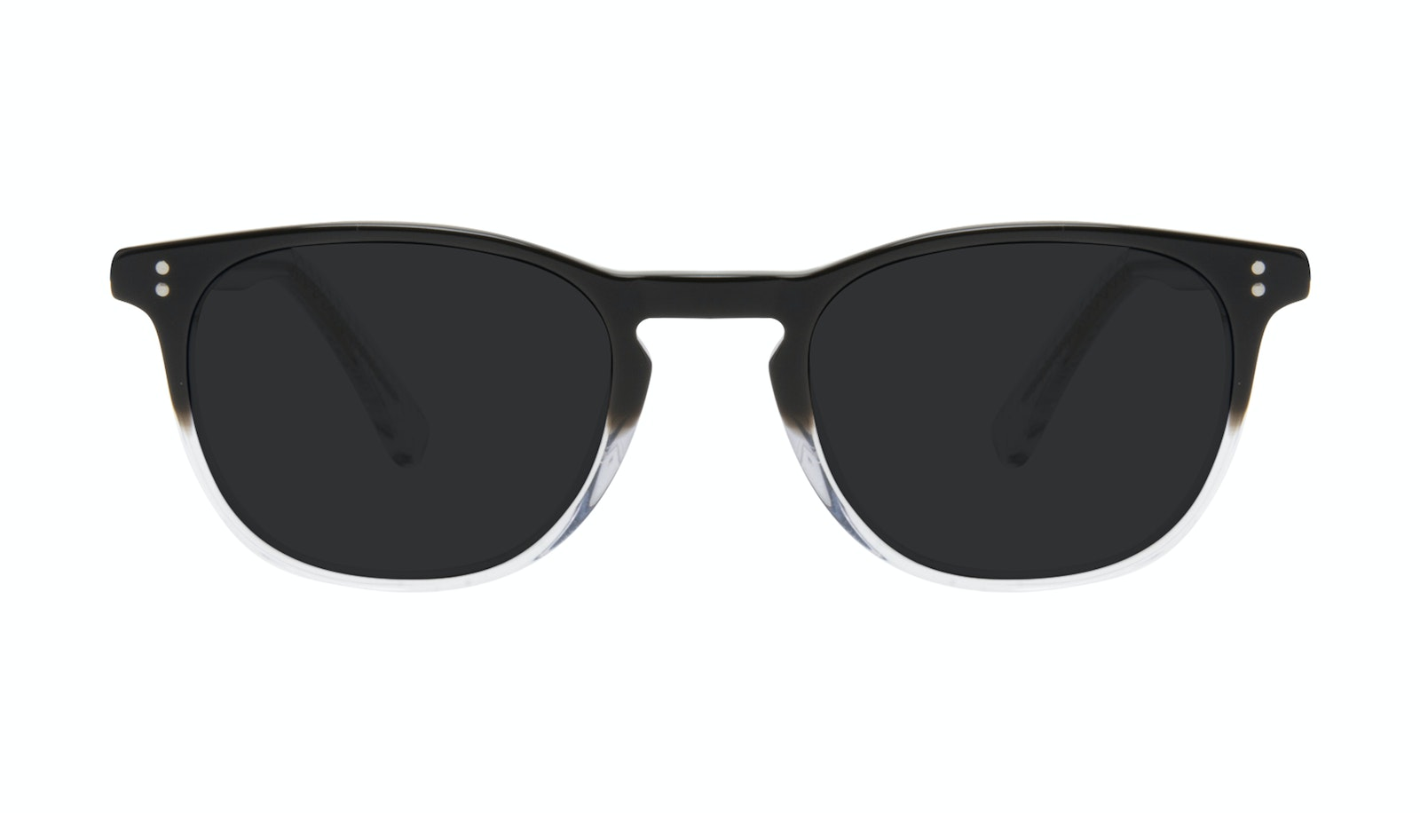Affordable Fashion Glasses Round Sunglasses Men Trooper Onyx Clear