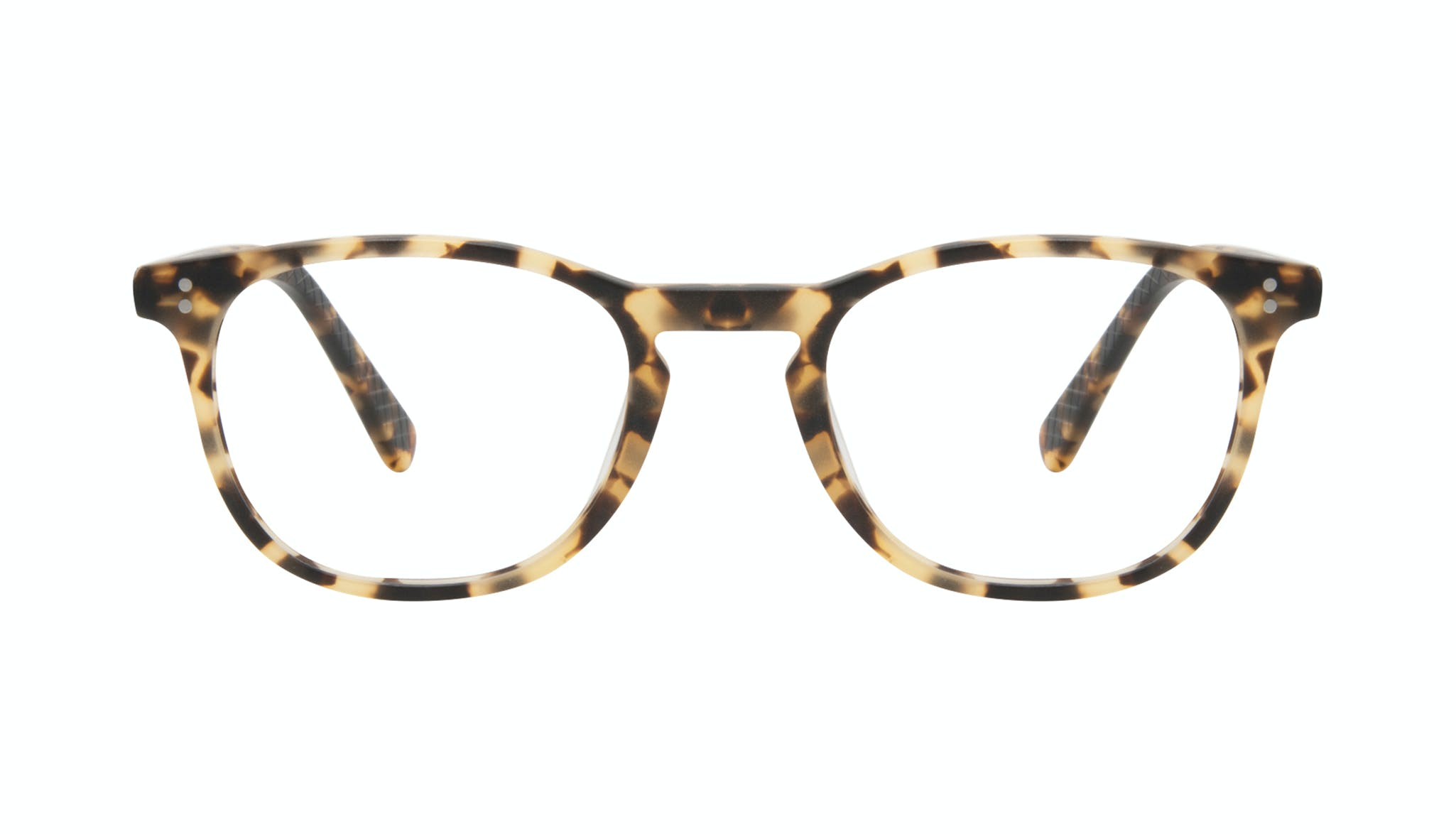 Affordable Fashion Glasses Round Eyeglasses Men Trooper Tortoise Matte Front