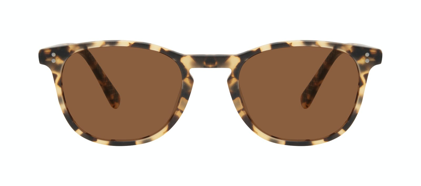 a7bab1e256 Affordable Fashion Glasses Round Sunglasses Men Trooper Tortoise Matte Front