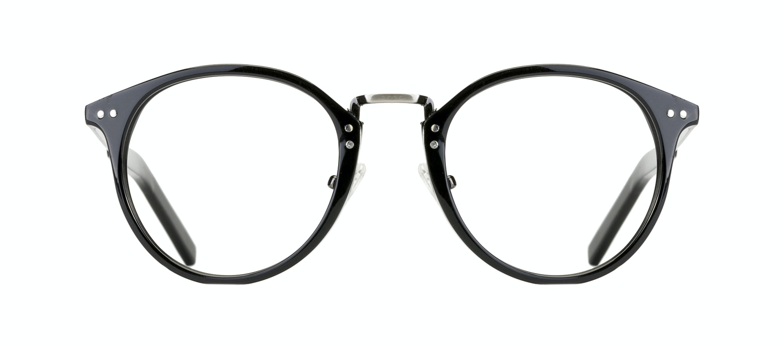 ae5768882 Affordable Fashion Glasses Round Eyeglasses Men Truly Black Front