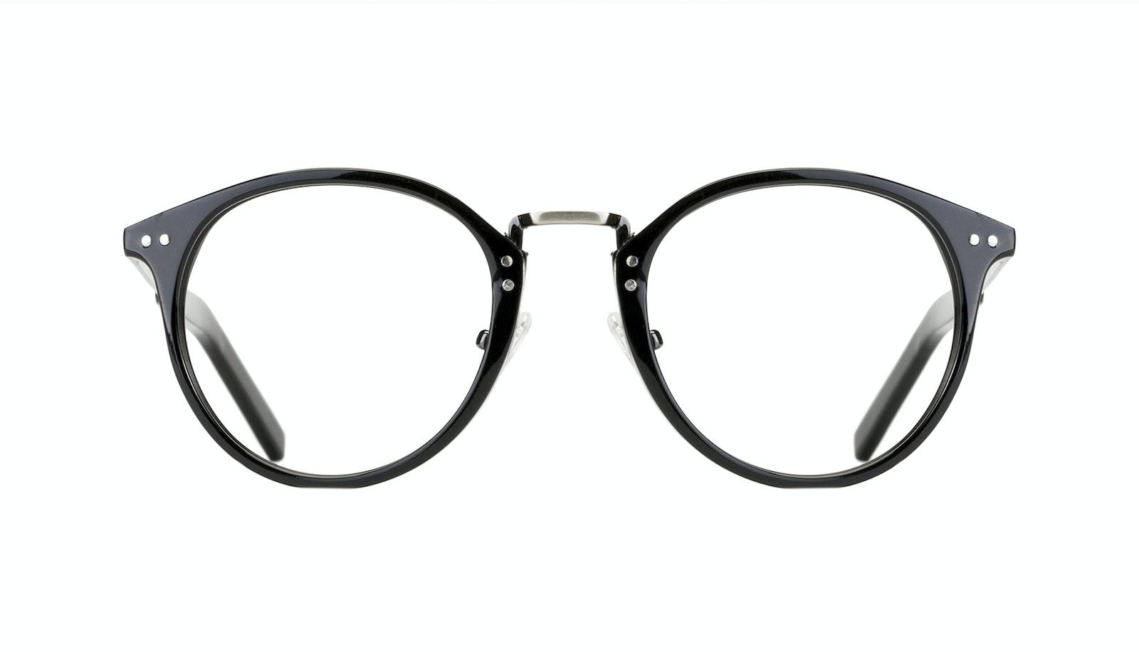 Affordable Fashion Glasses Round Eyeglasses Men Truly Black