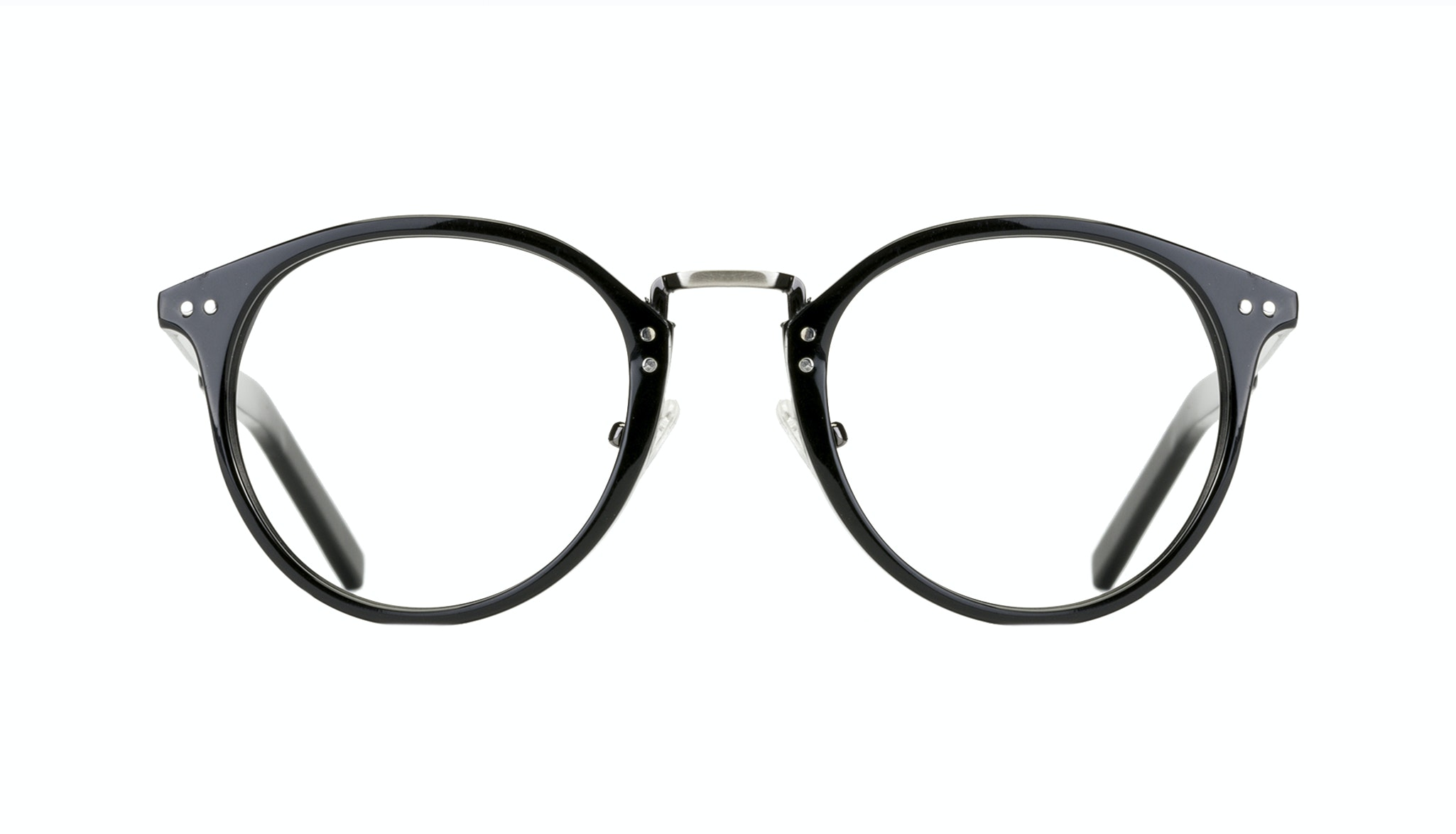 Affordable Fashion Glasses Round Eyeglasses Men Truly Black