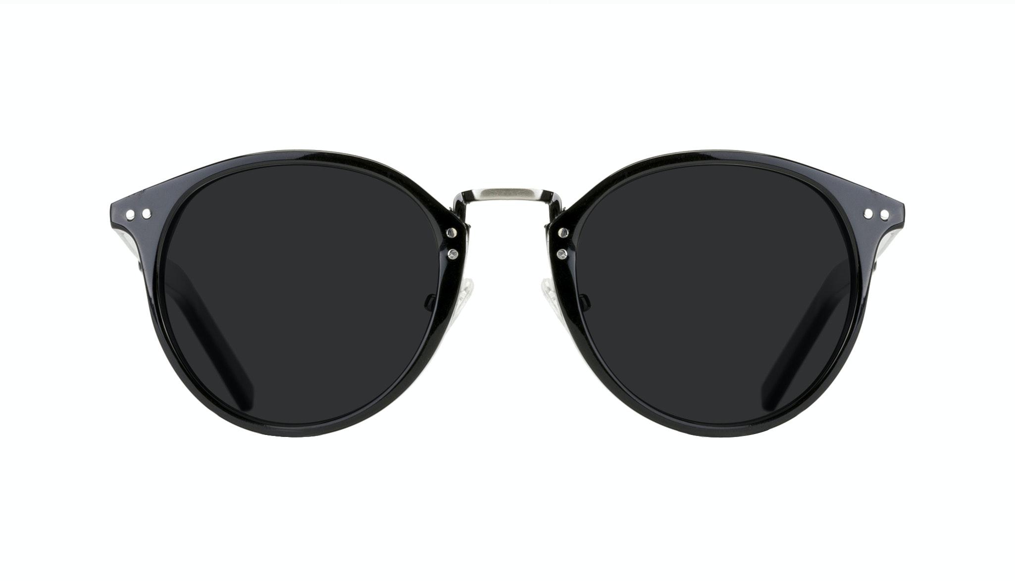 Affordable Fashion Glasses Round Sunglasses Men Truly Black