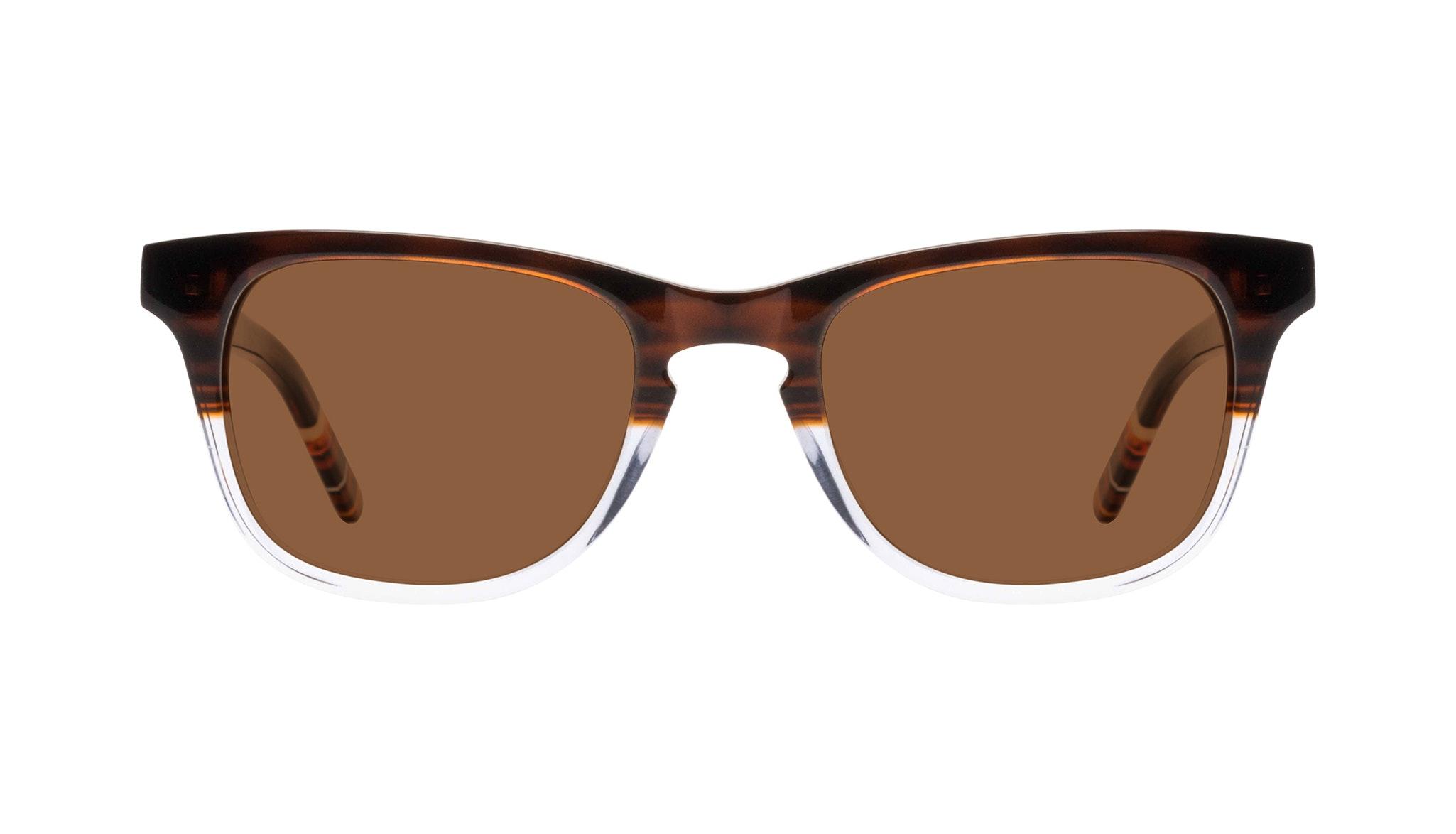 Affordable Fashion Glasses Rectangle Sunglasses Men Trust Bark Front