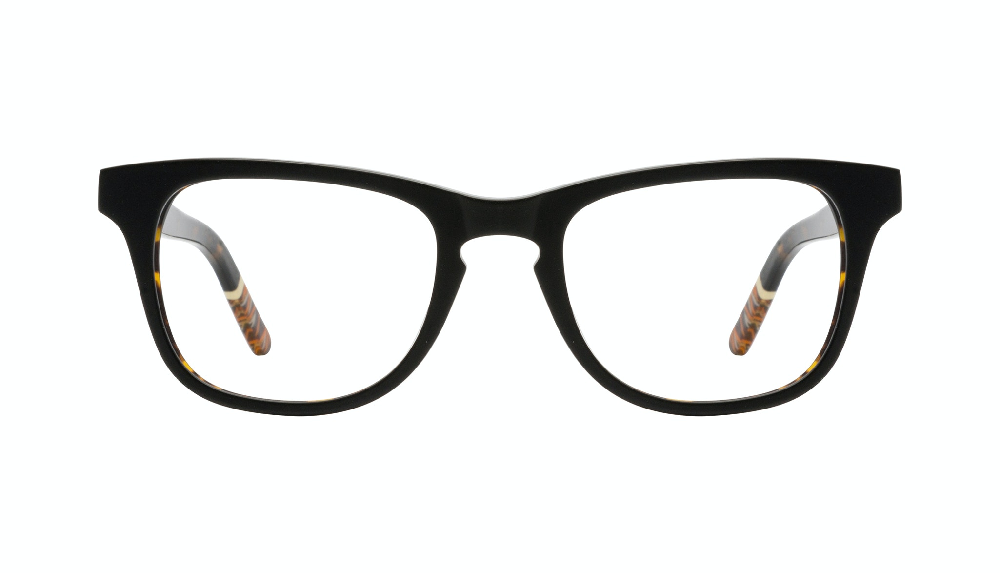 Affordable Fashion Glasses Rectangle Eyeglasses Men Trust Black Tort