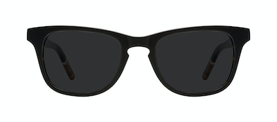Affordable Fashion Glasses Rectangle Sunglasses Men Trust Black Tort Front