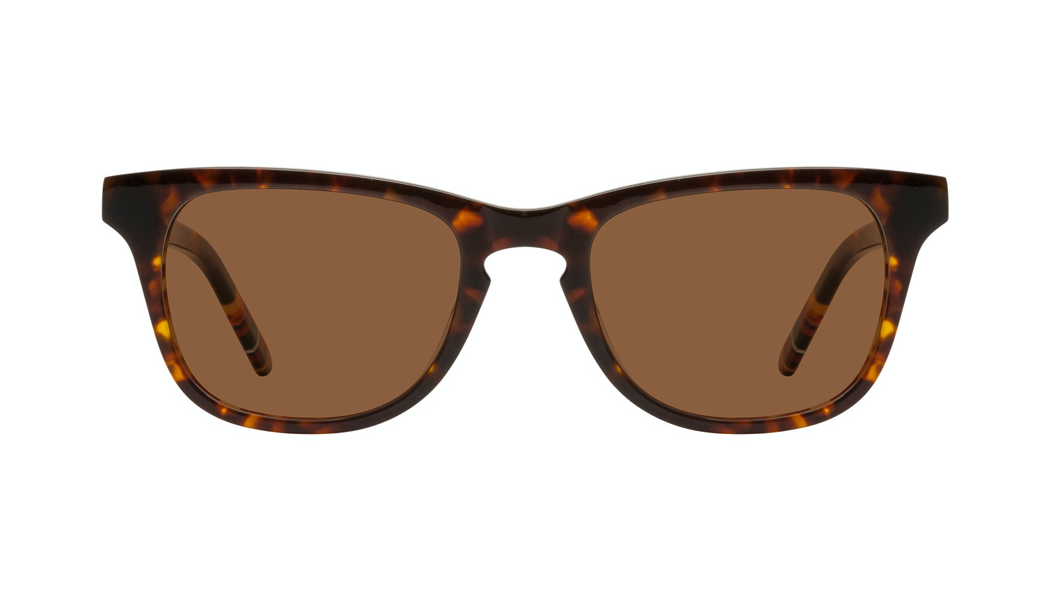 Affordable Fashion Glasses Rectangle Sunglasses Men Trust Tortoise Front